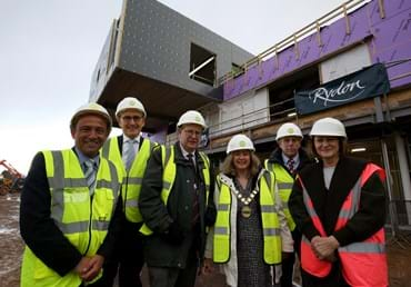Topping out ceremony marks key milestone in development o…