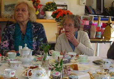 Residents' vintage tea party raises £250 for cancer charity