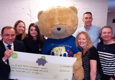 Curo's charity partnership raises over £35K for the Forever…